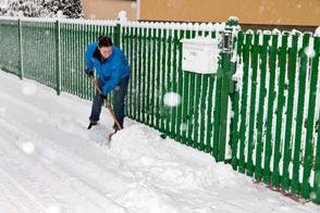 Schneeraeumung